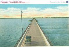 Sandusky Bridge Across Sandusky Bay Sandusky by FamilyTreeAntiques, $8.40