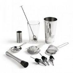 Kit con todo lo necesario para preparar deliciosos cócteles. Un explendido regalo para todos aquellos amantes de la cocteleria.  http://www.ilvo.es/es/product/kit-para-cocktel-