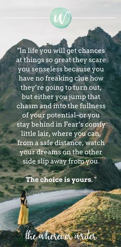 Travel quote on fear