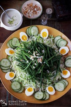 Mixed Vegetable Salad with Coconut Dressing   Goedangan (originates in Indonesia, but enjoyed in Suriname)