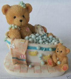 """Cherished Teddies Betty 626066 """"Bubblin' Over with Love"""" Retired 