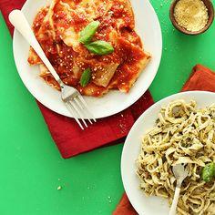 Homemade Vegan Pasta