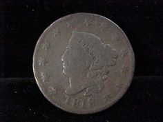 1818 Coronet Head Large One Cent Coin Original Piece Priced 2 Sell | eBay