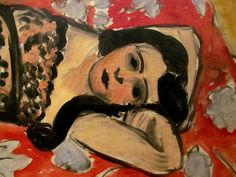 Henri Matisse - The Black Shawl (Detail), 1918