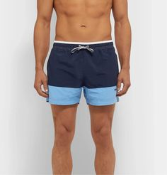 Orlebar Brown Nick Wooster BULLDOG Camo Brown Designer Swim Shorts Beachwear