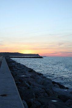 Fano (porto) #fano #mare #paesaggi
