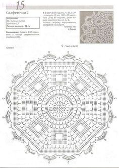 Large round motif