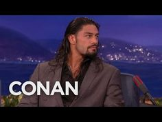Roman Reigns' Nemesis: The Buttcheek Bandit - CONAN on TBS - YouTube