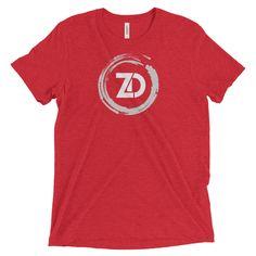 Men's Tri-blend T-shirt - Classic (white logo)