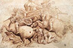 Battaglia di Anghiari - Leonardo da Vinci