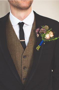 Possible vintage vest look. Minus skinny tie