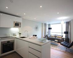 20 Best Small Open Plan Kitchen Living Room Design Ideas Small