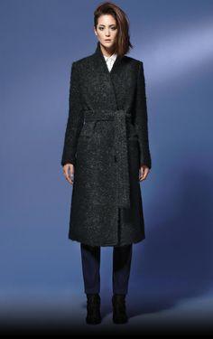 Black greatcoat - Autumn/Winter 2013-14 WOMAN