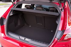 As with the standard Peugeot 308, the Peugeot 308 GTi has a massive 470-litre boot.