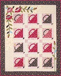 basket quilt I need to applique more!