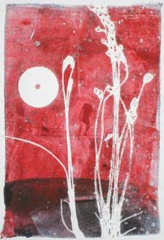 Gelatin Printmaking by Linda Germain, Artist and Teacher