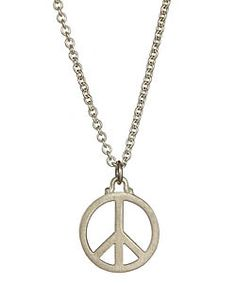 Real Jewels Peace Necklace  Price: $85.00