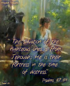 Jehovah is our Fortress...<3