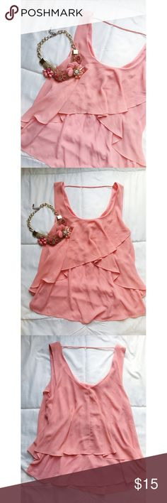 Pink Top Pink flowy summer top! Tops Blouses