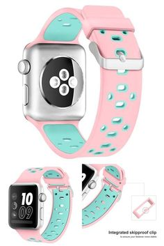 Apple Watch Soft Silicone Replacement Loop Strap Band for iWatch 42mm #Alritz