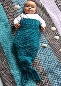 Mermaid Tail Blanket Free Crochet Pattern