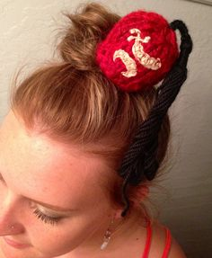 Mini knit fez hat by BeckyHomeckey on Etsy