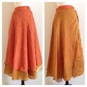 Reversible Double Layer Wrap Half Circle Skirt Tutorial | Adventures in Ordinary