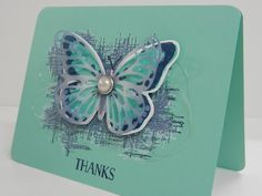 'Watercolor Wings' Stampin'Up! gemaakt door Stamp-ing Rilland www.stamp-ing.blogspot.nl