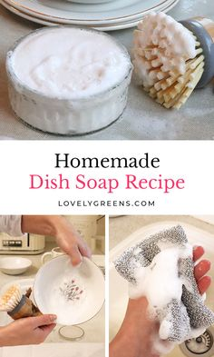 Homemade Cleaning Products, Cleaning Recipes, Soap Recipes, Natural Cleaning Products, Cleaning Hacks, Cleaning Supplies, Bath Products, Homemade Dish Soap, Homemade Detergent