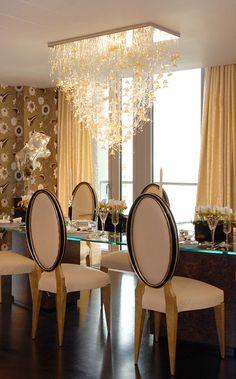 Sharon Marston - Tulle Light - Private Residence Knightsbridge
