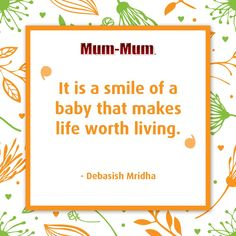 Clean up one mess, turn around, and they've made you another 😅 Sweet Sayings, Sweet Quotes, Baby Mum Mum, Smiley Baby, Jerry Seinfeld, Mother And Father, Quote Of The Day, Words, Life