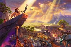 The Lion King - Limited Edition - 18 x 27 / SN- Unframed