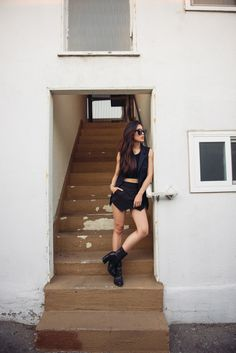 """Cropped in Black"" 