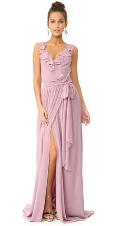 Joanna August Lacey Ruffle Wrap Dress