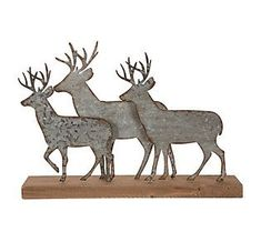 Target christmas decor. This festive galvanized metal reindeer statue will be the perfect Christmas accent to complement your rustic farmhouse holiday decor. From Glitzhome.