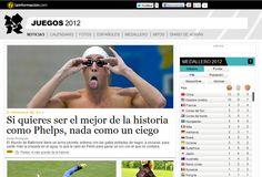 La estrategia de LaInformación.com en su cobertura de los Juegos Olímpicos