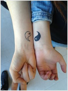 The Couple Yin Yang Tattoo Meaning And Designs Image