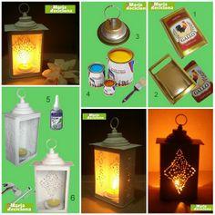 Lanternas recicladas