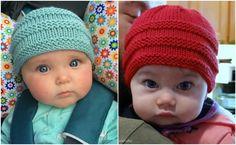 Knit Baby Beanie - Free Pattern Archives - STYLESIDEA