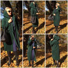 Linden Leaf, coat, dresses, cashmere Linden Leaf, Military Jacket, Cashmere, Raincoat, Leaves, Wool, Silk, Dresses, Fashion