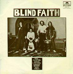 Blind Faith Albums | Blind Faith album cover, Polydor/France, 1973.