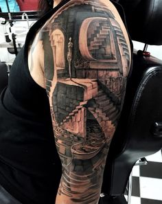 Best Arm Tattoos for Women and Men with tribals, robot, roses, words and flowers. Unique small tattoos on the inner, upper or lower arm. Perfect inspiration for tattoo ideas for girls and guys. Amazing 3d Tattoos, Epic Tattoo, Cool Arm Tattoos, Arm Sleeve Tattoos, Arm Tattoos For Women, Sexy Tattoos, Body Art Tattoos, Tattoos For Guys, Tattoo Sleeves