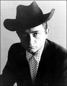 Johnny Cash 1932-2003. Died of complications from diabetes at 71.