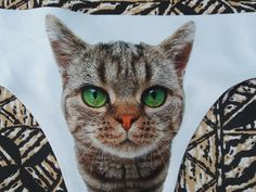 dc9b65e26aa2 Purring pussy-cat panties!!? Sweet one pussycat panties, cat underwear, cat  face, gift for her sweet gift idea