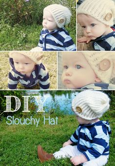 Artemis and Apollo: DIY Project: Slouchy Beanie Hat for Baby