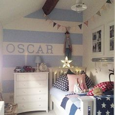 And now a picture of Oscars Room ..... In reds, blues & whites This was requested by @lindsayerinmurphy and please note all tots are in the wheelie bins under the bed as well as the wicker chests that both twins have. You can't see all their bedroom in this pic 😄 xxx💙xxx #bedroom #boysbedroom #paintedfurnitureshop #paintedfurniture #moderncountry #newengland #shabbychic #danish #danishstyle #interiors4all #inspointerior #inspohome #homeaccessories #homeinspo #cottage #cottagelove