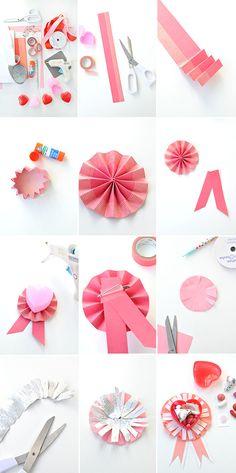 Valentine Ribbon Treats | Oh Happy Day!