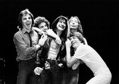 Journey 1981 Jonathan Cain, Neal Schon, Steve Perry, Steve Smith and Ross Valory Journey Band, Journey Journey, Gregg Rolie, Archive Music, Classic Rock Artists, Neal Schon, Journey Steve Perry, Steve Smith, Beastie Boys
