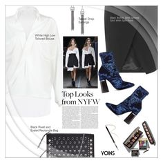 """""""Style It: Best NYFW Trend(yoins 5)"""" by meyli-meyli ❤ liked on Polyvore featuring Monse, Laura Mercier, 3.1 Phillip Lim, Givenchy, NYFW, yoins, yoinscollection and loveyoins"""