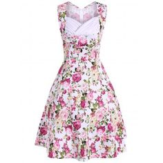 SHARE & Get it FREE | Retro Style High Waist Floral Print DressFor Fashion Lovers only:80,000+ Items·FREE SHIPPING Join Dresslily: Get YOUR $50 NOW!